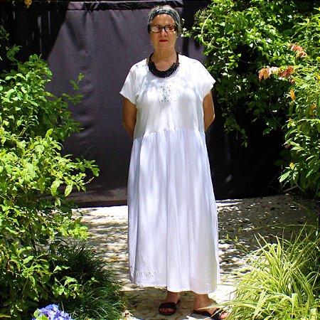 Vestido Bianco Clara Zona de Conforto