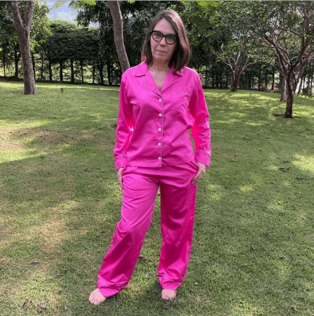 Pijama Amélia Pink - Regina Carvalho
