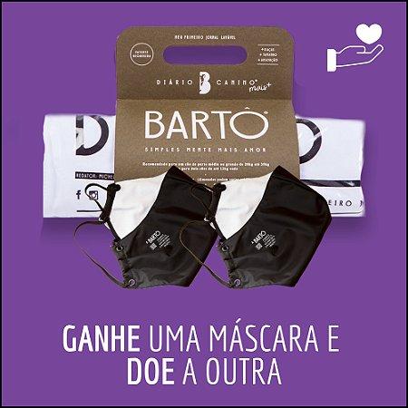 KIT  DIÁRIO CANINO MAIS + MASCARA PRETA