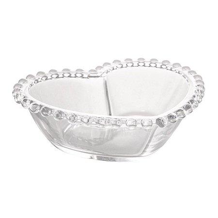 Bowl Cristal Coração Pearl - G