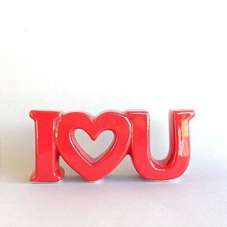 Decor Cerâmica I Love U