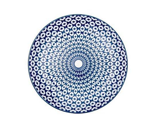 Prato Porcelana Geometrico