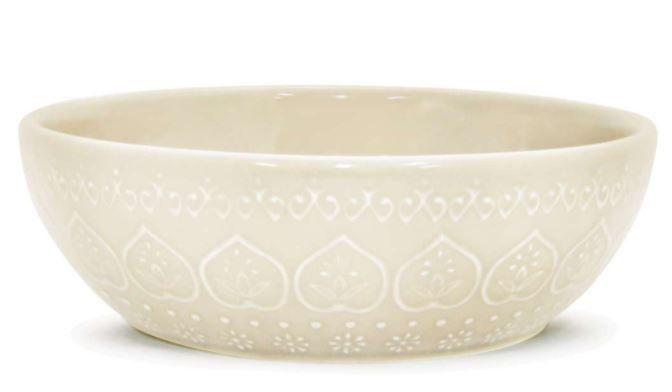 Bowl Relieve Branco