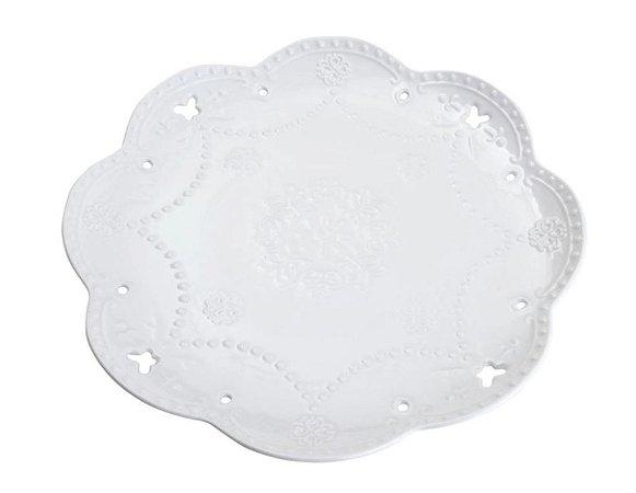 Prato Porcelana Borboleta G