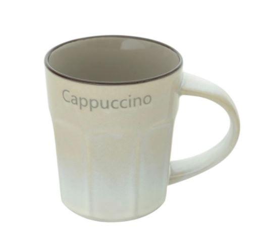 Caneca Cappuccino Cinza
