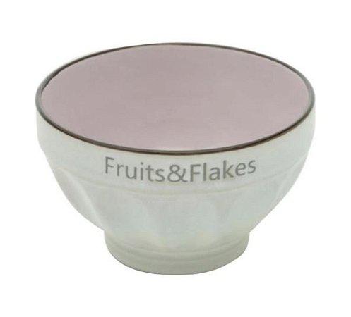 Bowl Fruits e Flakes - Lilás