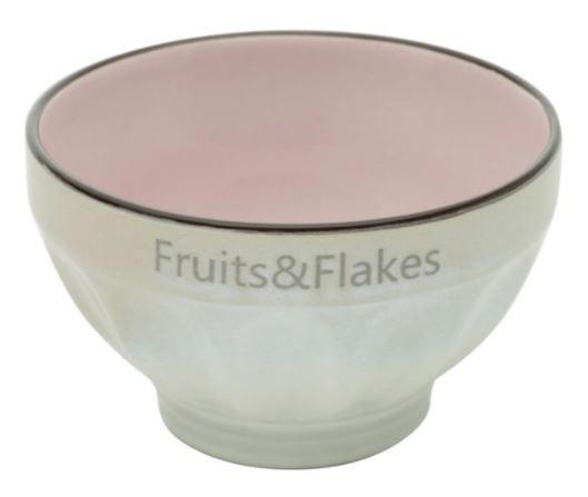 Bowl Fruits e Flakes - Pink