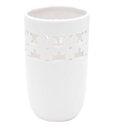 Vaso Porcelana Flowers