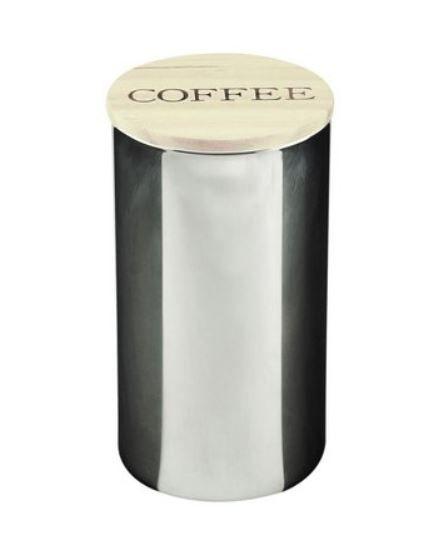 Pote de Vidro Coffee Clear Cinza