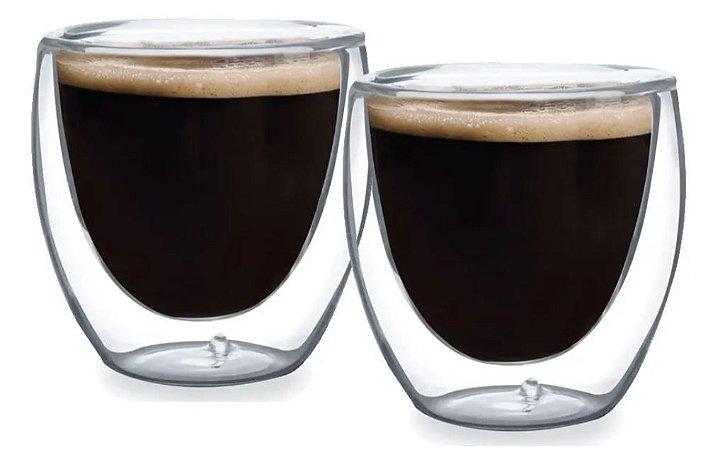 Conj. Copos para Café Dupla Parede - 70 ml
