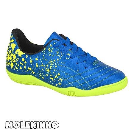 Tênis Futsal Molekinho Azul