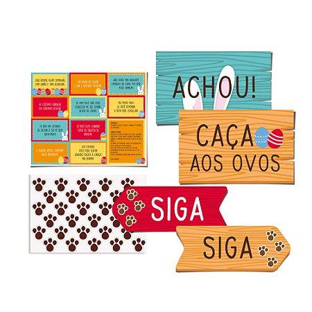 KIT CACA AOS OVOS PASCOA - PC X 1