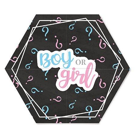PAINEL 2 LAMINAS BOY OR GIRL - UN X 1