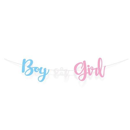 FAIXA DEC BOY OR GIRL - UN X 1