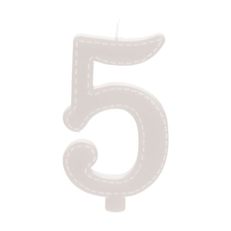 VELA GRANDE BRANCO N° 5 - UN X 1