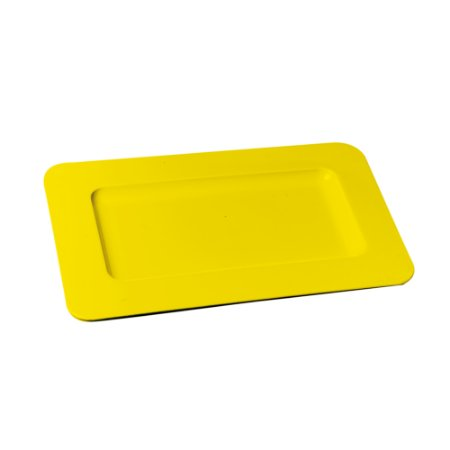 BANDEJA DEC DOUBLE FACE 28X18 AMARELO - UN X 1
