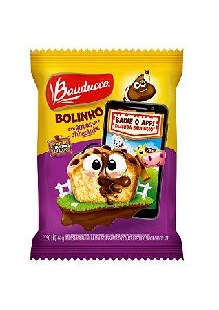 BOLINHO 40 G BAUN/CHOCOLATE - CT X 14