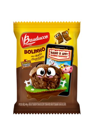 BOLINHO 40 G DUPLO CHOCOLATE - CT X 14