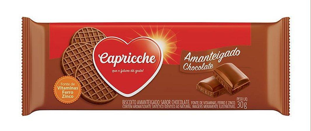 BISC 30G CAPRICCHE AMANTEIGADO CHOCOLATE - UN X 1