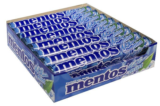 MENTOS 37,5 G TUBO ICE MINT - CT X 16