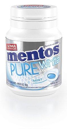 MENTOS 56 G PURE WHITE MENTA - UN X 1