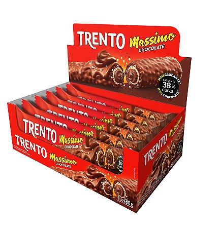 WAFER 30G TRENTO MASSIMO CHOCOLATE - CT X 16