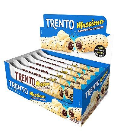 WAFER 30G TRENTO MASSIMO BCO COM COOKIES - CT X 16