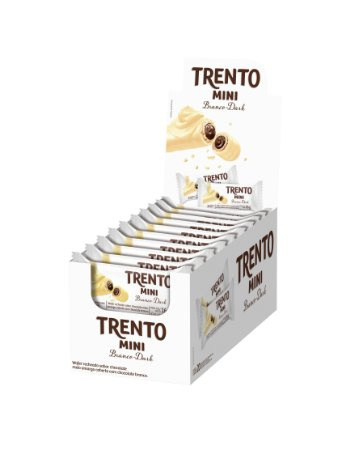 WAFER 16G TRENTO MINI CHOC BRANCO - CT X 20