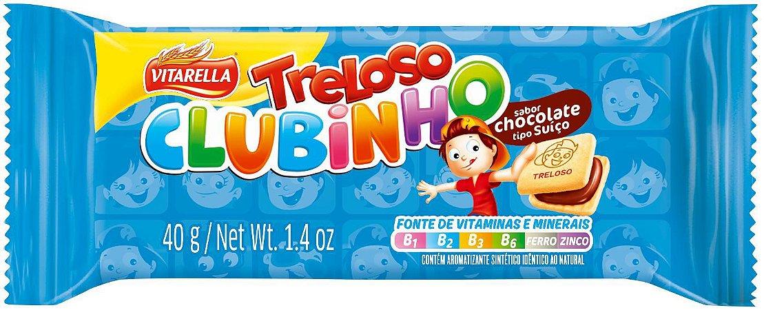 BISC 40 G TRELOSO CLUB CHOCOLATE - UN X 1