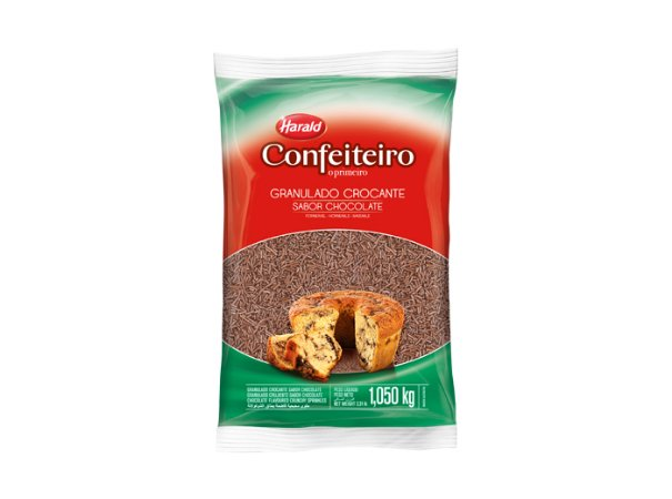 GRANULADO 1,050kg CONFEIT CROCANTE CHOCOLATE - PC X 1