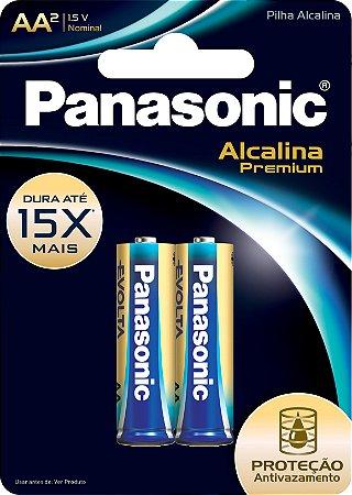 PILHA PAN ALC PREMIUM AA C/2 - CT X 1