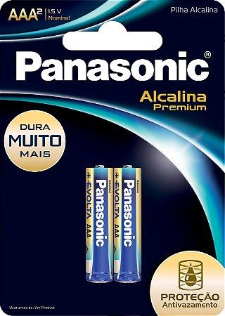 PILHA PAN ALC PREMIUM AAA C/2 - CT X 1
