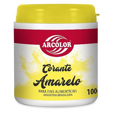 CORANTE 100G ARCOLCOR AMARELO LIMAO - UN X 1
