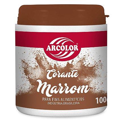 CORANTE 100G ARCOLOR MARROM - UN X 1