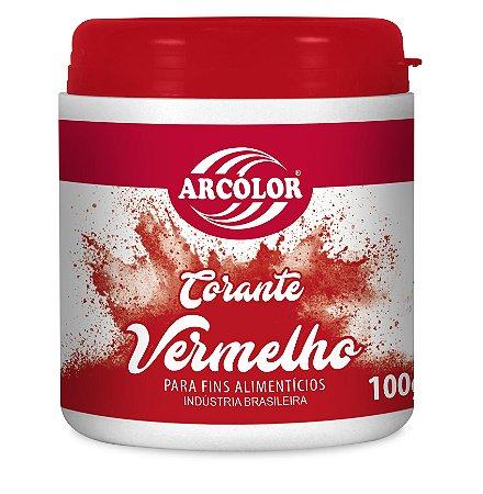 CORANTE 100G ARCOLOR VERMELHO - UN X 1