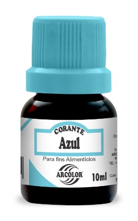 CORANTE 10ML ARCOLOR AZUL - UN X 1