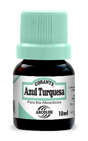 CORANTE 10ML ARCOLOR AZUL TURQUEZA - UN X 1