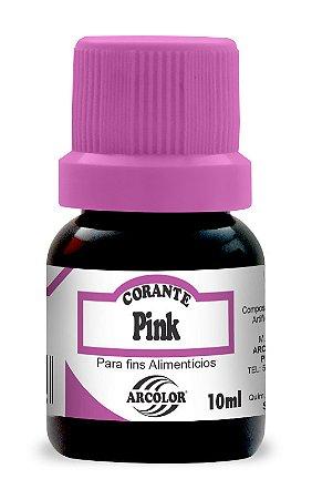 CORANTE 10ML ARCOLOR PINK - UN X 1