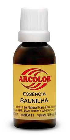 ESSENCIA 30ML ARCOLOR BAUNILHA - UN X 1
