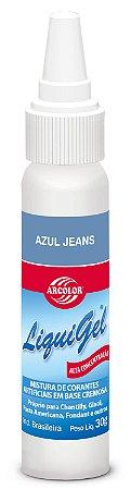 CORANTE LIQUIGEL 30G ARCOLOR AZUL JEANS - UN X 1