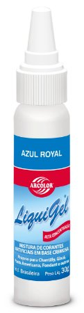 CORANTE LIQUIGEL 30G ARCOLOR AZUL ROYAL - UN X 1