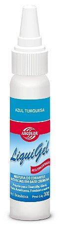 CORANTE LIQUIGEL 30G ARCOLOR AZUL TURQUESA - UN X 1