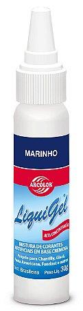CORANTE LIQUIGEL 30G ARCOLOR MARINHO - UN X 1