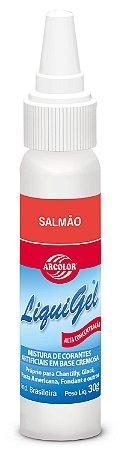 CORANTE LIQUIGEL 30G ARCOLOR SALMAO - UN X 1