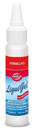 CORANTE LIQUIGEL 30G ARCOLOR VERMELHO - UN X 1