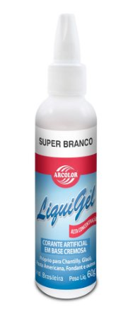 CORANTE LIGUIGEL 60G ARCOLOR BRANCO - UN X 1
