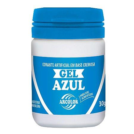 CORANTE GEL 30G ARCOLOR AZUL - UN X 1