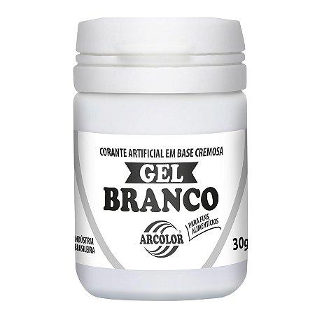 CORANTE GEL 30G ARCOLOR BRANCO - UN X 1