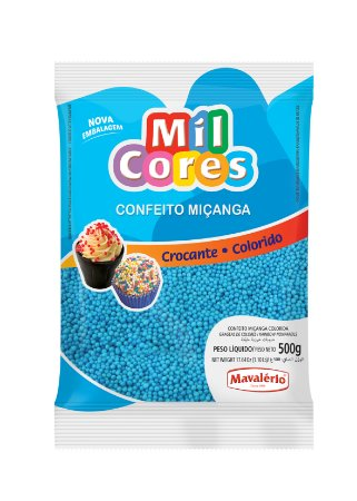 CONF 500G MICANGA N 0 MIL CORES AZUL - PC X 1