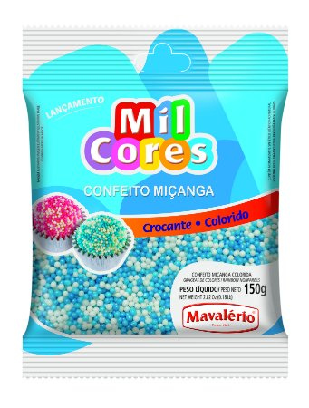 CONF 150G MICANGA N 0 BRANCA/AZUL - PC X 1